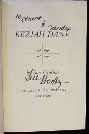 KEZIAH DANE: GRAFTON, Sue (SIGNED)