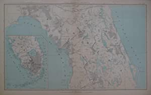 General Topographical Map, Sheet XI. Plate CXLVI