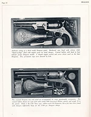 Colt Dragoon Pistols A Saga of the Six-Shooter and the Trails it Blazed: Serven, James E., Ed
