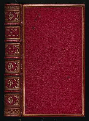 Les Caractères de Theophraste traduits du grec: La Bruyere, Jean