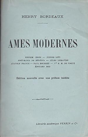 AMES MODERNES : HENRIK IBSEN - PIERRE: HENRY BORDEAUX