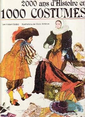 2000 ANS D HISTOIRE EN 1000 COSTUMES ---: ROBERT SELBIE