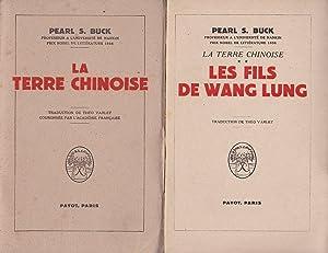 LA TERRE CHINOISE TOME I & II: PEARL S. BUCK