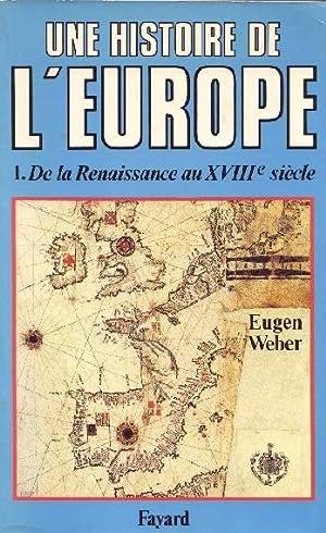 UNE HISTOIRE DE L EUROPE - HOMMES: EUGEN WEBER