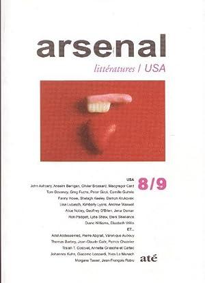 ARSENAL LITTERATURES n° 8 / 9 USA: J. ASHBERY /