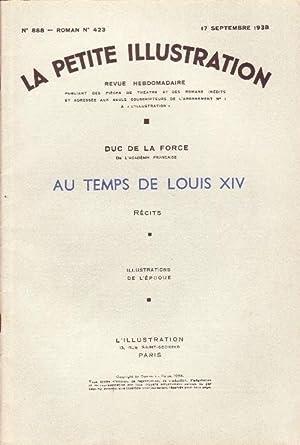 LA PETITE ILLUSTRATION n° 888 - AU: DUC DE LA