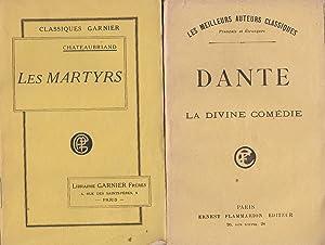 LES MARTYRS OU LE TRIOMPHE DE LA: CHATEAUBRIAND / DANTE