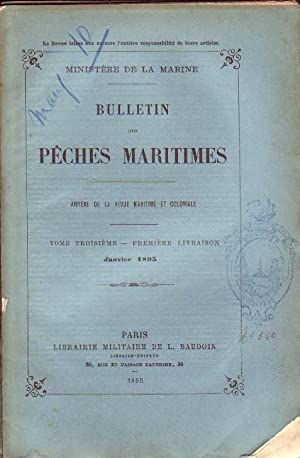 BULLETIN DES PÊCHES MARITIMES ( ANNEXE DE: COLLECTIF
