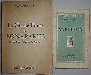 LA GRANDE PENSÉE DE BONAPARTE - DE: PIERRE COSTANTINI +