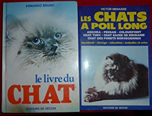 LES CHATS A POIL LONGS - ANGORA: VICTOR MENASSE +