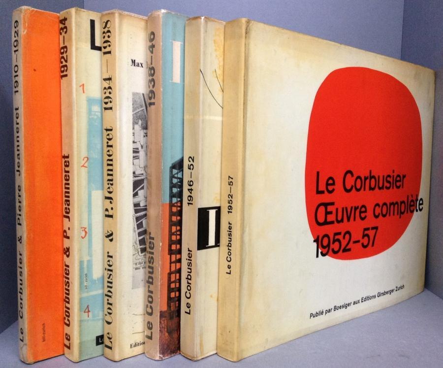 le corbusier et pierre jeanneret oeuvre complete volumes. Black Bedroom Furniture Sets. Home Design Ideas