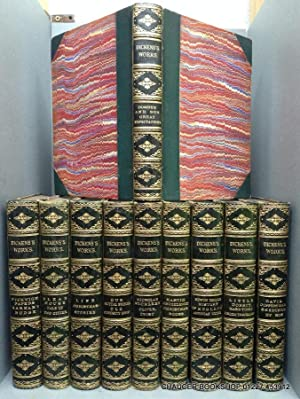 COMPLETE WORKS (22 Titles bound as 10: DICKENS, Charles