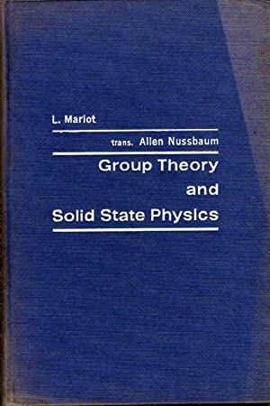 Group Theory and Solid State Physics: Mariot, l.