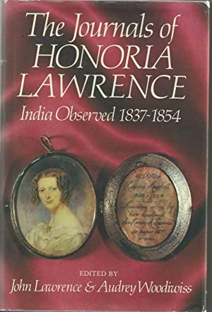 The Journals of Honoria Lawrence - India: Lawrence, John ;