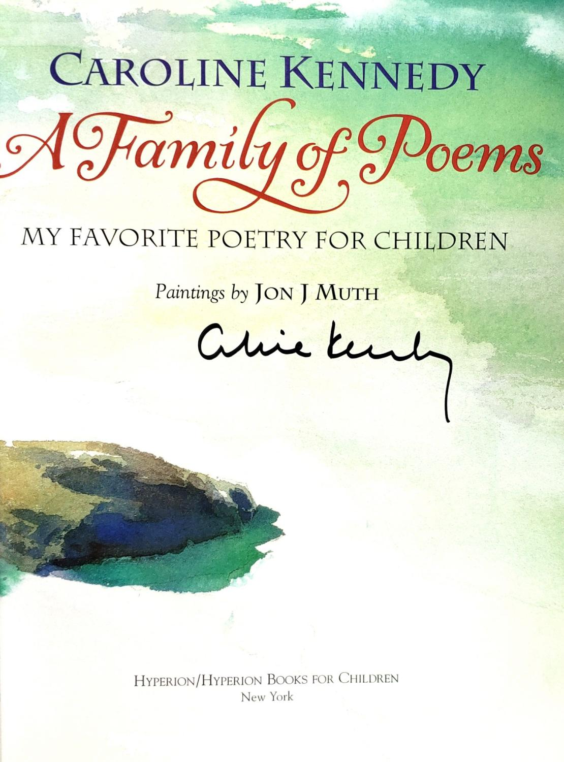 A Family Of Poems My Favorite Poetry For Children De