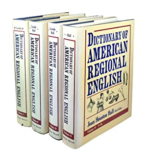 Dictionary of American Regional English [Volumes I - IV]