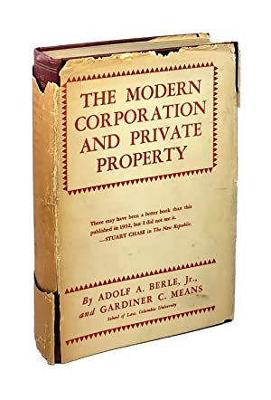 The Modern Corporation and Private Property