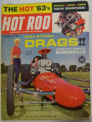 Hot Rod Magazine, November 1962, Volume 15,: Greene, Bob (Editor)