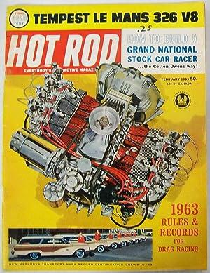 Hot Rod Magazine, February 1963, Volume 16,: Greene, Bob (Editor)