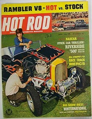 Hot Rod Magazine, April 1963, Volume 16,: Greene, Bob (Editor)