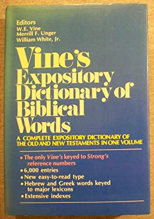 vine w e merrill f unger and william white jr - an expository