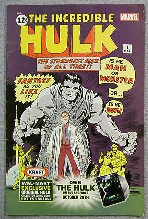 The Incredible Hulk, Volume 1, Number 1,: Lee, Stan &