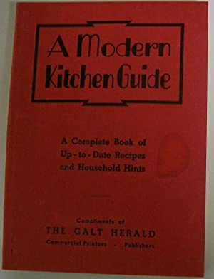 A Modern Kitchen Guide: A Complete Book: N/A
