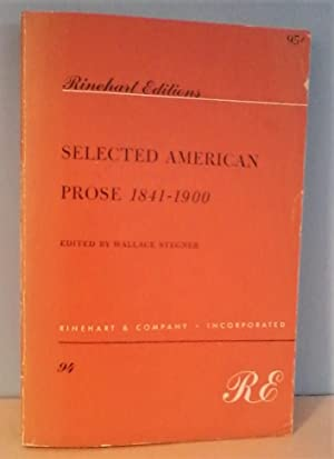 Selected American Prose 1841-1900: The Realistic Movement