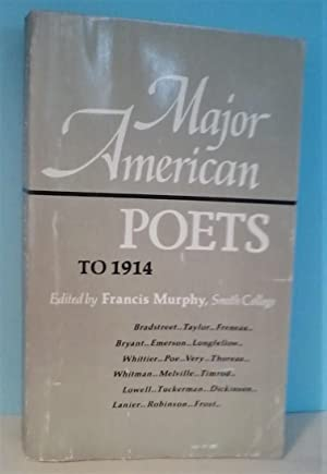 Major American Poets to 1914