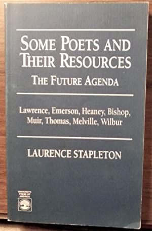 Some Poets and Their Resources: The Future Agenda