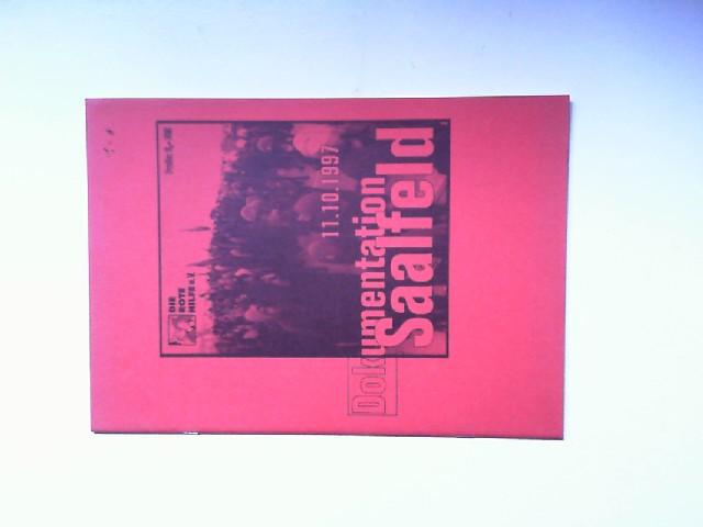 Dokumentation Saalfeld 11.10.1997: Bauer, W.: