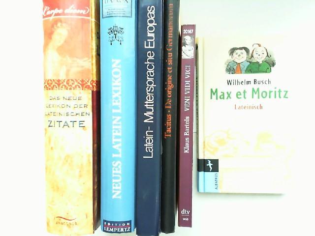 Buchpaket Latein Sechs Bücher Zusammen 1