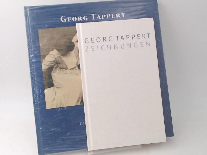 2 Bücher zusammen - Georg Tappert: 1) Zeichnungen; 2) Photographische Augenblicke eines Malers nach 1900. - Tappert, Georg und Stiftung Schleswig-Holsteinische Landesmusseen Schloß Gottorf (Hg.)