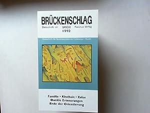 Brückenschlag - Zeitschrift im Paranus-Verlag - Zeitschrift: Bremer, Fritz: