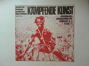 Kämpfende Kunst. Zeitschrift der Vereinigung sozialistischer Kulturschaffender.: Zentralvorstand der Vereinigung