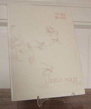 """Katalog: """"Feder-Blüten Pinsel-Blüten"""". Mit einem Interview von: Kova, Laszlo:"""