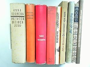 Anna Seghers - neun Bücher zusammen: 1): Seghers, Anna: