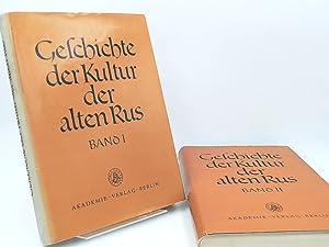 2 Bücher zusammen: Geschichte der Kultur der: Woronin, N. N.
