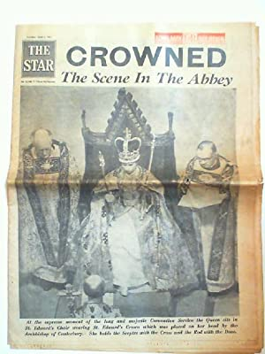 The Star Tuesday, June 2, 1953: Crowned - The Scene In The Abbey. text: