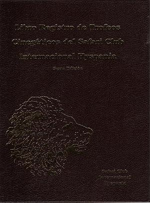 LIBRO REGISTRO DE TROFEOS CINEGETICOS DEL SAFARI CLUB INTERNACIONAL HYSPANIA. SEXTA EDICION: CARAZO...