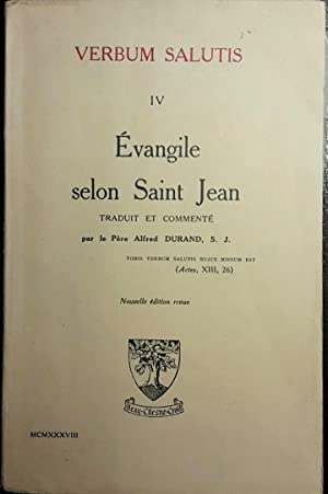 Evangile selon Saint Jean: BIBLE