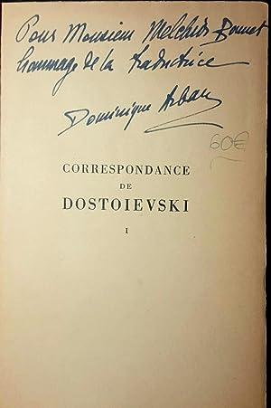 Correspondance de Dostoievski. T.I. (seul): DOSTOÏEVSKY / ARBAN