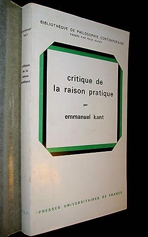 Critique de la raison pratique.: KANT, Emmanuel