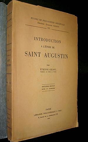 Introduction à l'étude de saint Augustin.: GILSON, Etienne