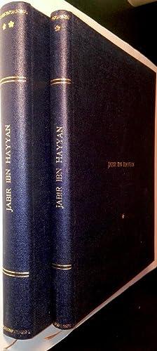 Jabir Ibn Hayyan. Contribution à l'histoire des: KRAUS, Paul