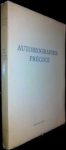 Autobiographie précoce.: EVTOUCHENKO, E.