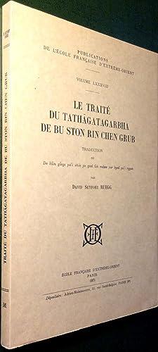 Le Traité du tathagatagarbha de Bu-ston Rin-chen-grub.: RUEGG, David-Seyfort