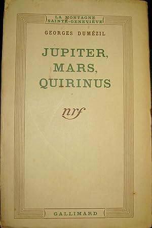 Jupiter, Mars, Quirinus, IV. Explication de textes indiens et latins.: DUMEZIL, Georges