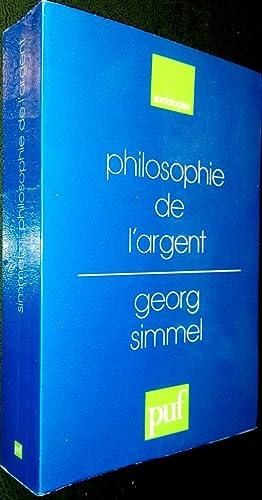 Philosophie de l'argent.: SIMMEL, Georg