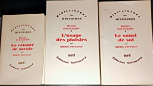 Histoire de la sexualité, 2 : L'Usage des plaisirs. t. II (seul).: FOUCAULT, Michel